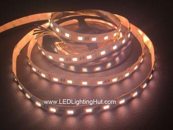 5-in-1 RGB+Dual White 5050 LED Strip, 60 LED/m, 24V DC, 5m