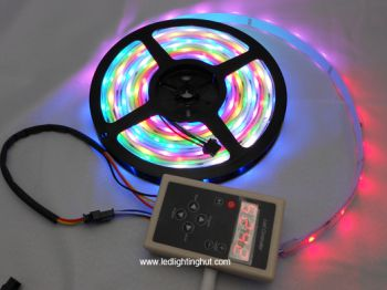 5m LPD6803 LED Digital Strip + LPD6803 Strip Controller + LED Power Supply