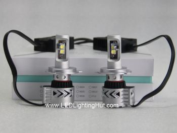 6000LM CREE LED Headlight Conversion Kit, H4 H7 H8 H9 H10 H11 H13 H16 9004 9005 9006 9007 Available