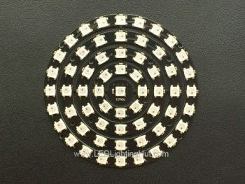 61 x WS2812B 5050 Addressable RGB LED Ring Set