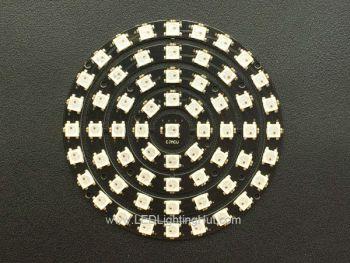 61 x WS2812B 5050 Addressable RGB LED Ring Set