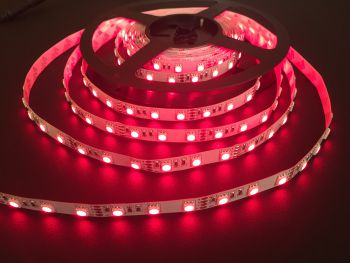 680nm Red SMD 5050 Flexible LED Strip, 60/m, 5m, 12V