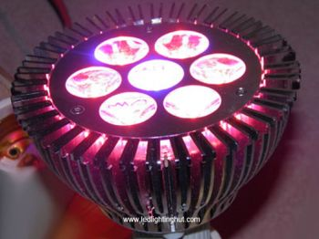 7W High Power Red/Blue E27 LED Grow Light