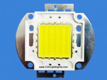 Epistar 80W 45mil Chip High Power LED, 7200-8000 lm, Warm/Pure White Available