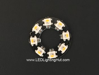 8 x SK6812 RGBW 5050 Digital LED Ring