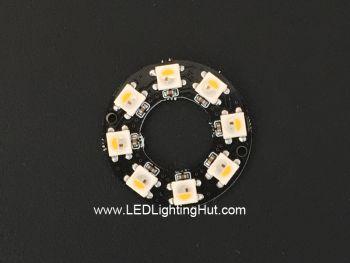 8 x SK6812 RGBW 5050 Digital LED Ring