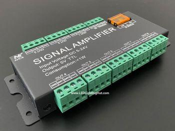 8 Way SPI TTL Signals Amplifier/Splitter, 5-24V DC