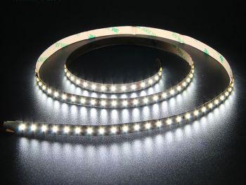 8mm Wide 3014 White LED Strip, 120/m, 12V/24V, 5m Reel
