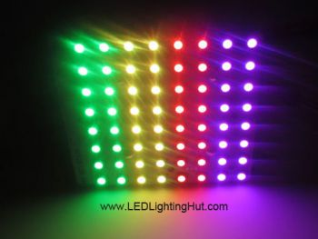 8x8 WS2812B Rigid Digital RGB LED NeoPixel Matrix, DC5V input