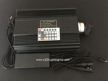 90 Watt DMX 512 RGB LED Fiber Optic Light Source  w/ remote