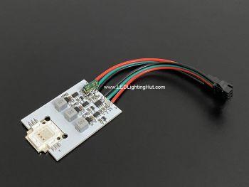 9W RGB High Power Digital WS2811 Pixel Dot, Pack of 10