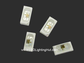 Addressable SK6812 Side Emitting 4020 RGB LED, 100 Pack