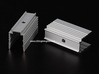 Aluminum Extrusion Mounting Clip for 10*23mm LED Neon Pixel Light, Pack of 10