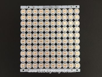 APA102 Digital Addressable 5050 RGB LED Mini PCB, DC5V Input, Sheet of 100