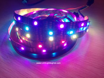 APA102 Digital Addressable RGB LED Strip, 30 LEDs/M, 5V DC