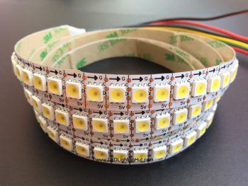 APA102 Warm White/Cool White Digital Intelligent LED Strip, 144LED/m, 5V
