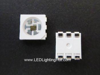 APA102C 5050 RGB LED, Chip-Built-in, 100 Pack