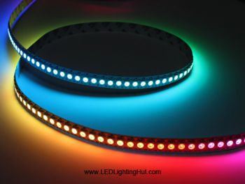 APA104 Digital Intelligent RGB LED Strip Light, 144 LED/M, 5VDC