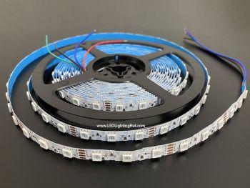 Bendable ZigZag 5050 RGB LED Strip, 60/m, 12V, 5m Reel
