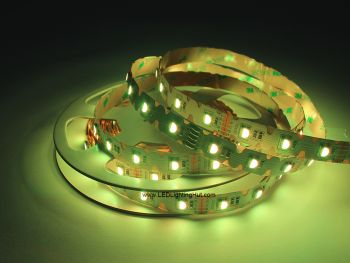 Bendable ZigZag 5050 RGBW LED Strip, 48/m, 12V/24V, 5m Reel