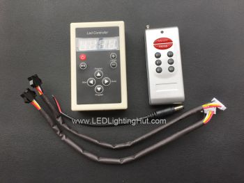 Controller for LPD6803 digital RGB LED Strip,  12V DC, 132 Changing Modes