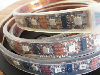Digital LPD8806 RGB LED Flexible Light Strip, DC5V, 48 LEDs/M, 24LPD8806IC/M, 5M/Roll