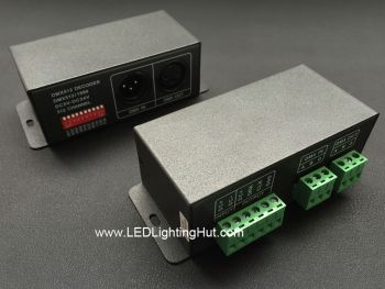 DMX512 to WS2801 Decoder, Support WS2801,WS2803 Driving IC