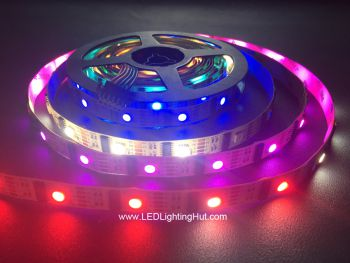 DMX 4 In 1 RGBW LED Strip, Pixel-by-Pixel Control, 5V DC