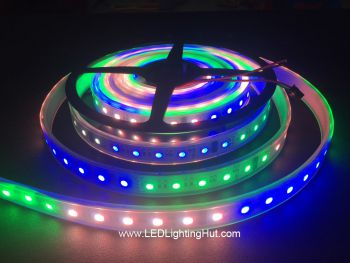 DMX 512 4-in-1 Digital RGBW LED Strip, 60 LED/m, 5m, 24VDC