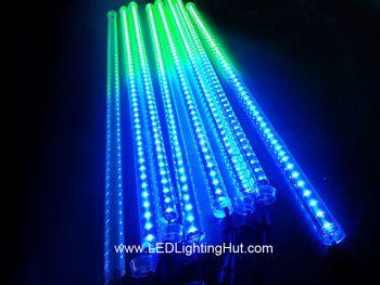 DMX 512 Digital RGB 3D LED Meteor Tube, 12V, 0.5/1.0/1.5m Available