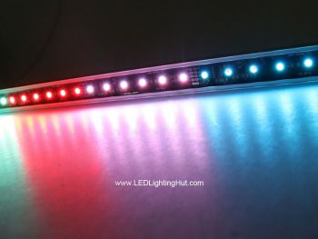 DMX 512 Digital RGB LED Light Bar, 1m, DC24V
