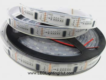 DMX Programmable Side Emitting RGB LED Strip, 60 LED/m, 5m, 12VDC