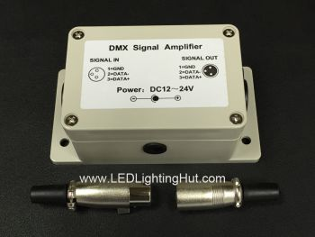 DMX Signal Amplifier, 5-24V DC