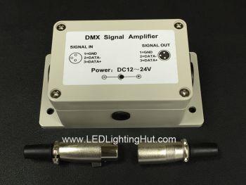DMX Signal Amplifier, 5-24V DC