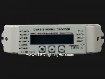DMX to SPI Smart Pixel Decoder,  Support 2811/ 2801/ 6803/1804 /3001/9301/8806 Protocols