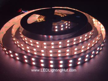 Double Row 4 In 1 RGBW SMD 5050 Flex LED Strip, 120 LEDs/m, 5m, 24V DC