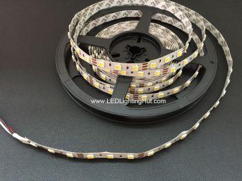 Dual Chip White Adjustable 5050 LED Strip, 60/m, 12V, 5m Reel