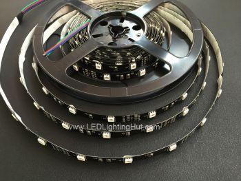 5050 RGB Color Changing LED strip, 30/m, 12V, 5m Reel