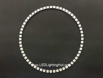 Four 1/4 60 WS2812 5050 Digital RGB LED Ring