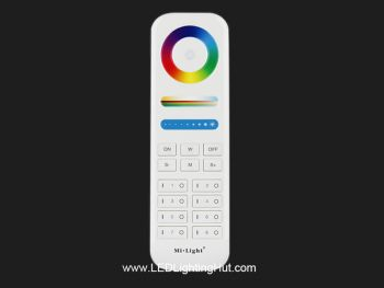 Mi-Light FUT089 5-in-1 RF Wireless 8 Zones Remote Controller