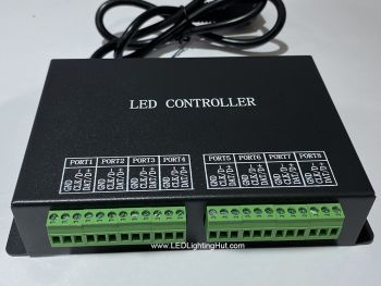 H801RC 8 ports LED Slave Controller, 8192 pixels