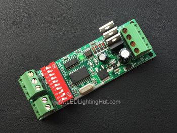3CH 1 Group Easy DMX512 LED Controller, 2A/CH, DC12-24V Input