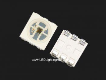 HD107S Digital 5050 RGB LED, High PWM Frequency, 100 Pack