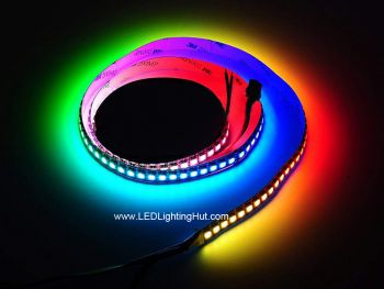 HD107S High PWM Frequency Digital RGB LED Strip, 144/m, 60/m, 30/m Available