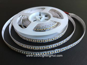 High Density 3014 Flexible LED Tape Light, 240 LED/m, 12V/24V DC, 5m Reel