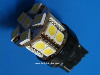 High Intensity 3156/3157 T20 LED Replacement Bulb, 18 SMD 5050 LEDs, 12V (2 pack)