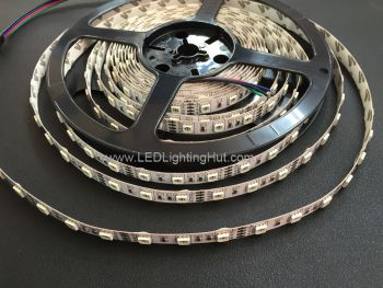 5050 RGB Color Changing LED strip, 60/m, 12V/24V, 5m Reel