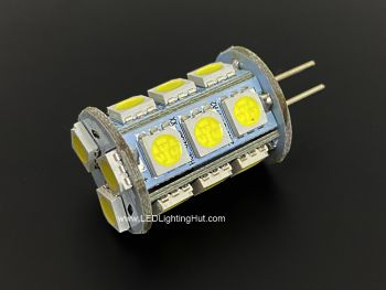 High Power G4 Back-Pin LED Lamps with 18 SMD 5050 LEDs
