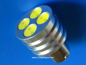 High Power T25 1157(BAY15D) LED LED Brake Light, 12V, 4W  (2 pack)