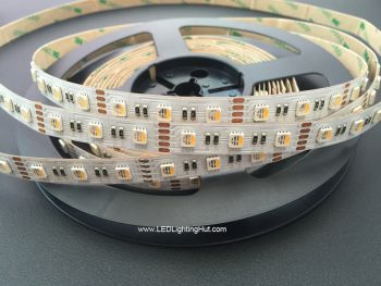 4 In 1 RGBW 5050 LED Strip, 60/m, 12V/24V, 5m Reel